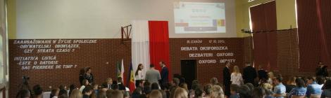 Debata oxfordzka polsko-mołdawska w Blizanowie