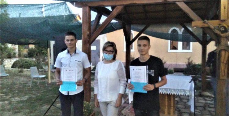 Maksim i Bogdan stypendystami Echa Pyzdr w 2020