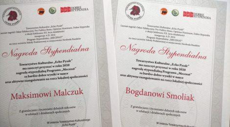 Bogdan i Maksim z Naddniestrza stypendystami Echa Pyzdr!
